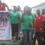 Widow charity walk Anambra