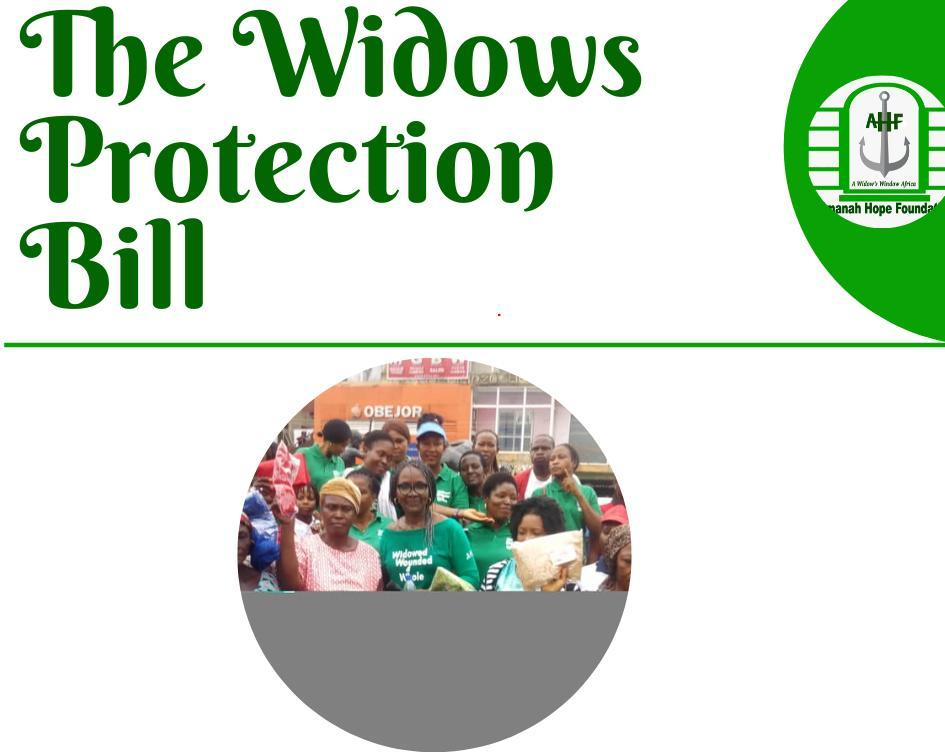 The widows protection bill